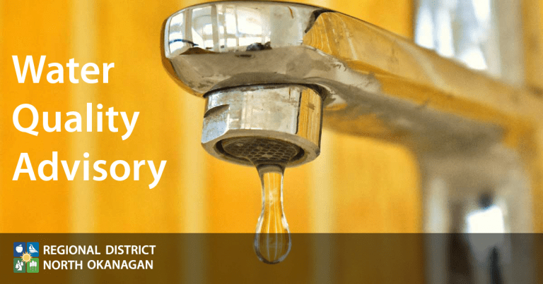 RDNO Water Quality Advisory
